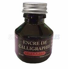 J.Herbin 50ml Bottle Calligraphy Dipping Pen Ink - Purple/Violet Ink 11470T