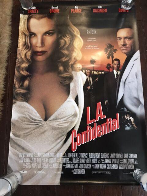 L.A. Confidential Movie POSTER 27 x 40 Kim Basinger, Kevin ...