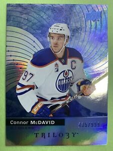 2017-18-Upper-Deck-Trilogy-Blue-1-Connor-McDavid-999-Edmonton-Oilers-Parallell