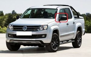 New-Genuine-VW-AMAROK-10-17-Front-N-S-Left-Wing-Mirror-Cover-Cap-Primed-OEM