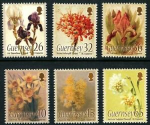 GUERNSEY-2005-WATER-COLOUR-PAINTINGS-SET-OF-ALL-6-COMMEMORATIVE-STAMPS-MNH-H