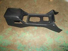 Land Rover Discovery 2 Black Center Console 99 00 01 02 03 04 Cubby Box