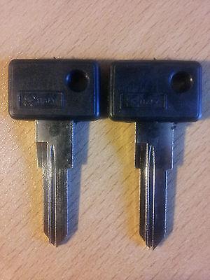 CROSSER 50 2 Schlüsselrohlinge//  Schlüssel F10 JET MALAGUTI CENTRO SL