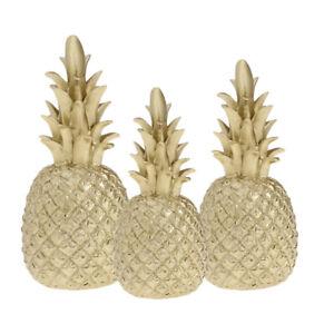 3pcs Resin Pineapple Ornaments Figurine Furnishing Articles For Home Decor Ebay