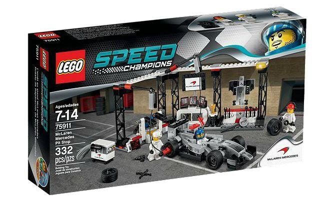 LEGO ® Speed Champions 75911 McLaren Mercedes Pit Stop Nouveau neuf dans sa boîte NEW En parfait état, dans sa boîte scellée Boîte d'origine jamais ouverte