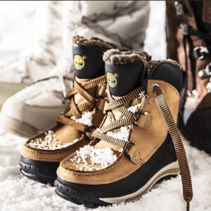 ced7eb5e1 Timberland Toddler Chillberg Waterproof Winter Wheat   Black Boots ...