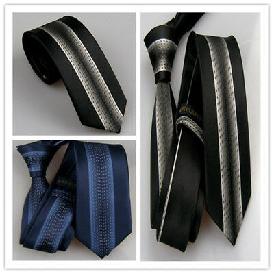 LAMMULIN Man Ties Blue with Gold Giraffe Pattern Necktie Jacquard Skinny Tie 7cm