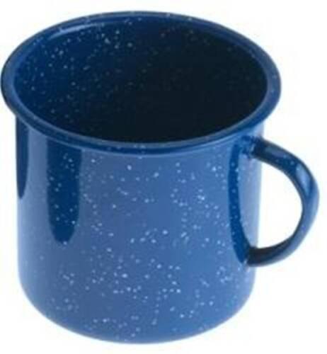 GSI Outdoor Blue Enamelware 24oz Coffee Beverage Cup Mug Camping Hunting Fishing