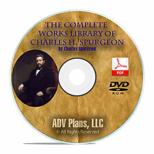 3,500 Bible Sermons, CH Spurgeon, Christian Preaching Commentary, DVD F06