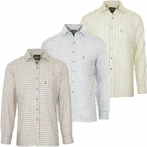 MENS-CHAMPION-TATTERSALL-COUNTRY-CHECK-SHIRTS-FISHING-HUNTING-SHOOTING-PLUS-SIZE