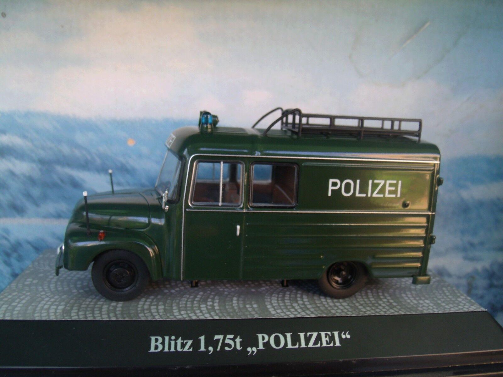 1 43 Premium ClassiXXs Opel Blitz 1,75 T POLICE Limited 1 of 500