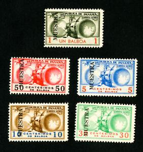 Panama-Stamps-FVF-OG-LH-Rare-Colombia-Specimen-Set
