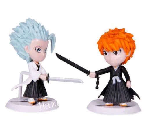 6pcs//Set Bleach Kurosaki Ichigo Characters Aktion Figure Figurine 8cm Spielzeug