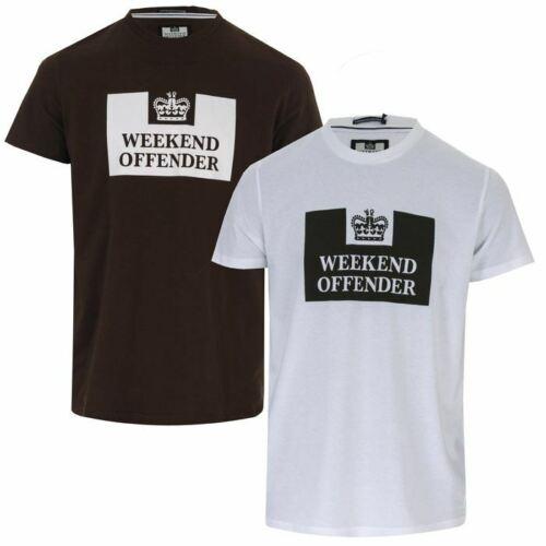 Homme Weekend Offender tadmur 2 Pack T-shirts en coton en blanc et vert