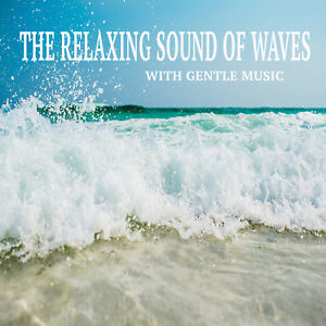 WAVES-RELAXATION-CD-FOR-MEDITATION-STRESS-SPA-amp-SLEEP-WITH-MUSIC-SLEEP-AID