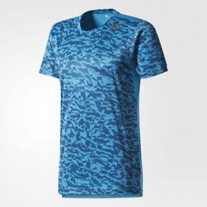 Adidas-Hommes-Formation-officielle-freelift-Climacool-Tee-T-shirt-Nouveau-Tailles-L-XL