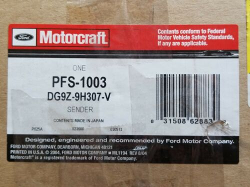 Fuel Pump and Sender Assembly MOTORCRAFT PFS-1003 fits 13-16 Ford Fusion 2.0L-L4