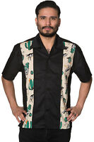 Banned Lost And Found Retro Bowling Rockabilly Shirt