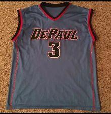 Original Vintage NCAA DePaul Blue Demons Basketball Jersey