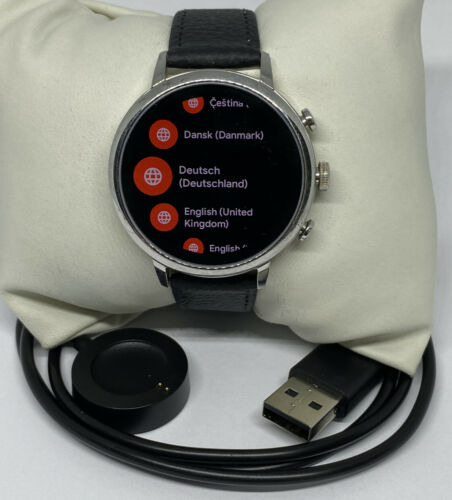 Fossil Gen 4 Authentic Digital Dial Smart Watch Custom Band FTW6016 DC510