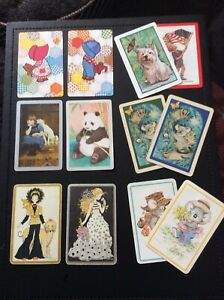 Swap-Playing-Cards-CUTE-N-COLLECTABLE-REVISED-LOT-Vintage-Retro-Modern