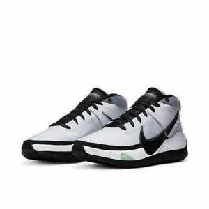 Nike KD13 TB Basketball Shoes White Black Platinum CK6017-100 Men's NEW