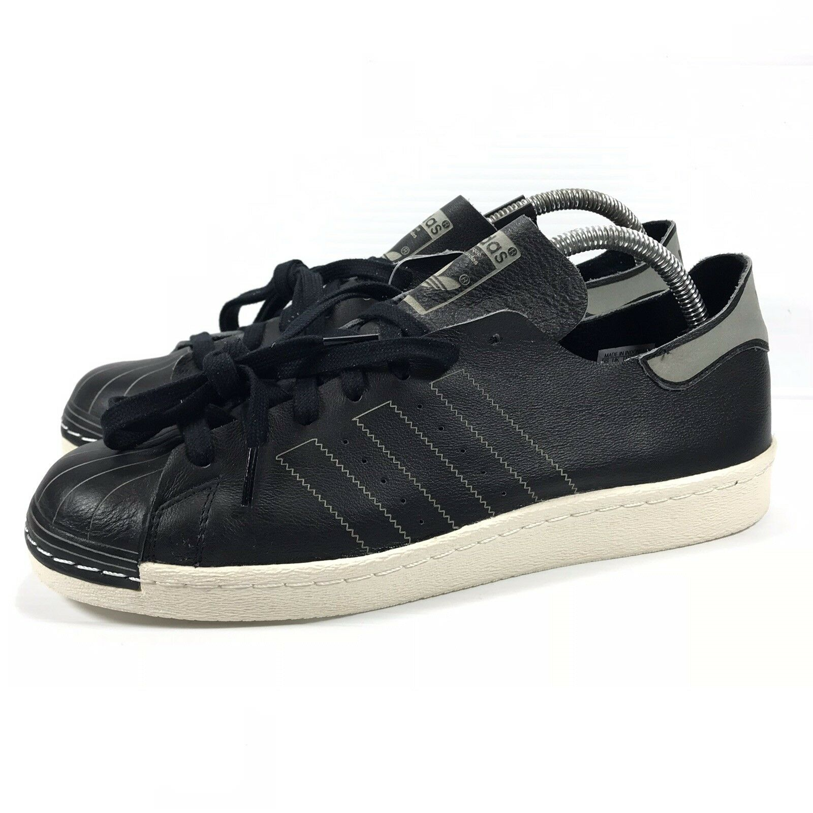 Adidas Superstar 80s Decon Sneakers Mens Sz 10 BZ0110 Leather