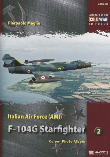 AirDoc NEU  /& ADCW002 Italian F-104G Starfighter Photo Album