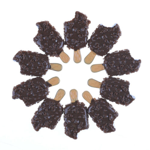 5PCS Miniature Mini Dollhouse Chocolate sicle Food Models Home Kitchen P*CA
