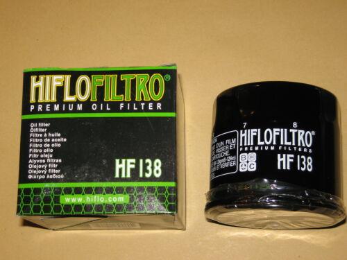 Filtre à huile Hiflo Chrome vs 600 Intruder NOUVEAU *