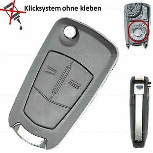 Klapp-Schluessel-Ersatz-Gehaeuse-fuer-Opel-Corsa-D-Zafira-B-Astra-H-Tigra-Meriva-A