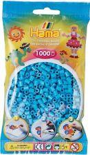 Hama - 207-49 Sachet 1000 Perles à repasser Bleu Azur