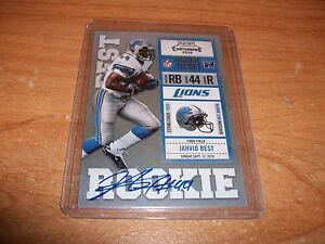 2-2010-Football-Playoff-Contenders-Jahvid-Best-Rookie-Auto-Cards-Lot-Lions