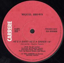 SIDNEY / MIQUEL BROWN - Let's Break (Smurf), Feat. Black White N' Co - Carrere