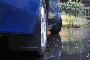 Rally Armor Basic Mud Flaps Black 02-07 Subaru Impreza WRX STI RS 2.5i NEW
