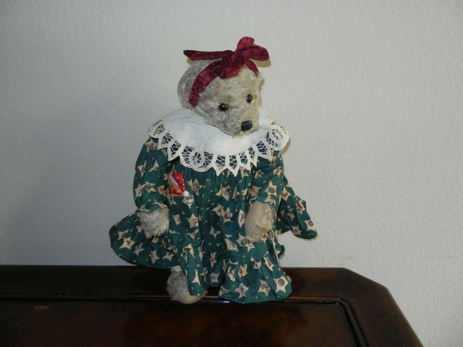 Ganz Cottage Collectibles Teddy Bear ~ Kathy ~ Christmas Version MWT Mint w/ Tag