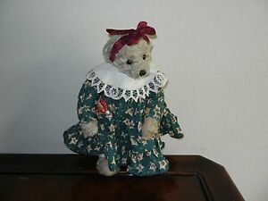 Ganz Cottage Collectibles Teddy Bear Kathy Christmas Version Mwt Mint W Tag Ebay