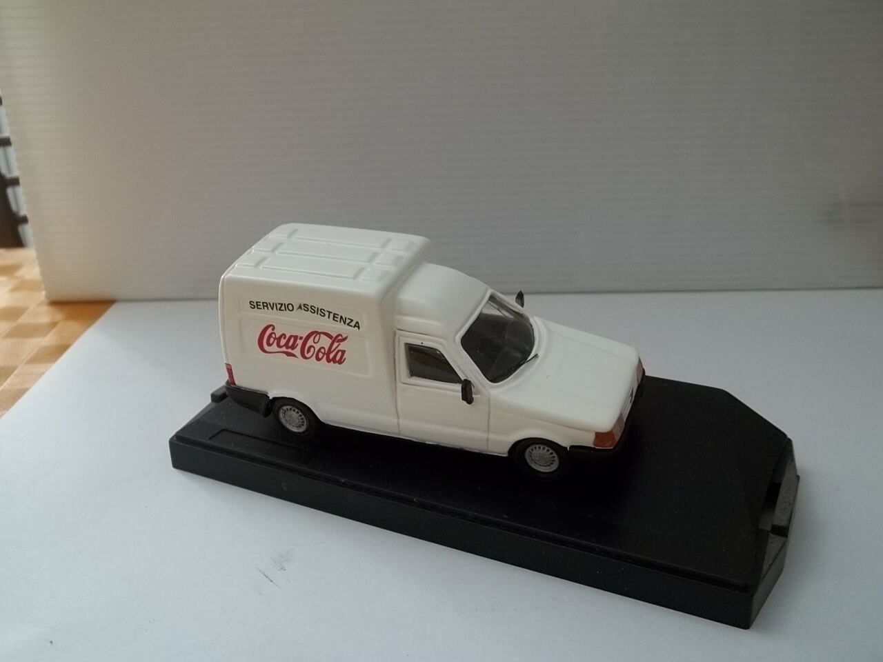Speed model sc1 43 fiat fiorino furgone coca cola