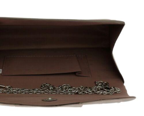 Beautiful Satin Elegant Pleated Clutch Bag Shoulder Bag Vintage Wedding Evening