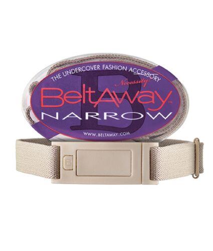 Beltaway Flat Buckle Elastic Women/'s Belt One size NARROW 0-14