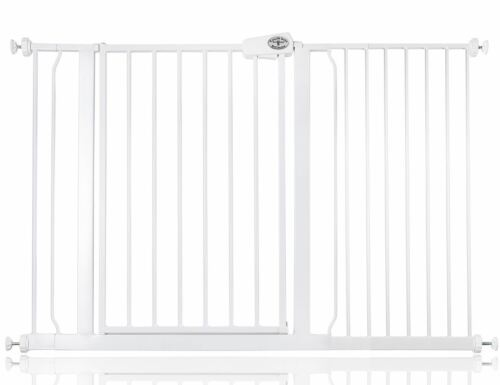 Bettacare Facile Mettre Barrière de sécurité escalier bébé Blanc 75-147cm