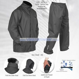 Vass-Tex-Lightweight-Waterproof-amp-Breathable-Packaway-Jacket-amp-Trouser-Set-VASS
