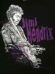 Jimi-Hendrix-My-Love-Hold-On-To-Me-T-Shirt-Size-L-Hybrid