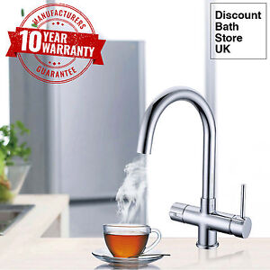 Instant Hot Boiling Water Kitchen Tap 3 In 1 Cold Hot Water