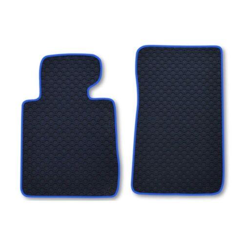Rau Gummimatten OCTAGON 2 Band blau BMW 3er E46 E 46 Cabrio Bj 4//00-2//07