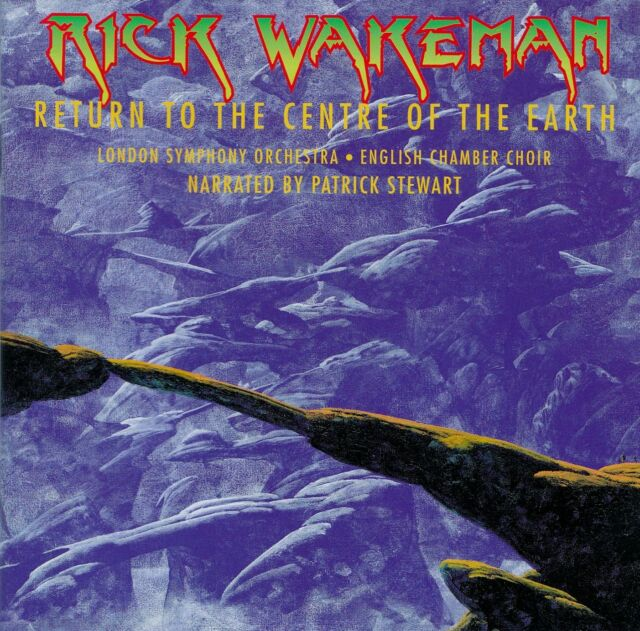 RICK WAKEMAN : RETURN TO THE CENTRE OF THE EARTH / CD - TOP-ZUSTAND