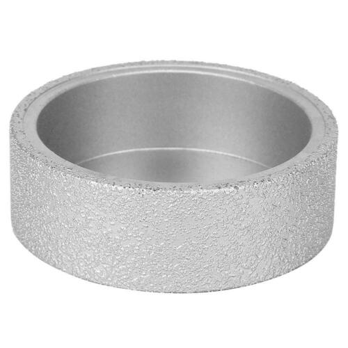 Meule plate de meule tranchante de diamant de 7,3 cm Meule plate 0,5 1,0 2,5