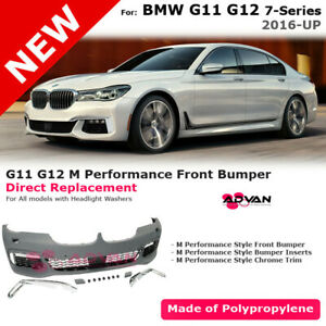 For Bmw 7 Series G11 G12 16 19 M Performance Sport Front Fascia Kit Bumper Cover Ebay