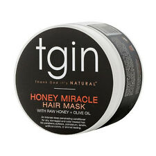 tgin Honey Miracle Hair Mask with Raw Honey + Olive Oil, 12 oz.