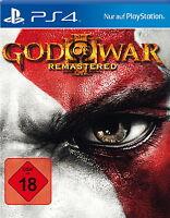 God of War III Remastered (Sony PlayStation 4, 2015)